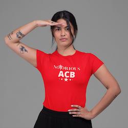 Notorious ACB T-Shirt Dam