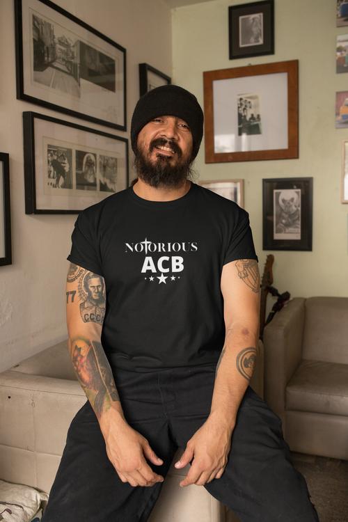 Tshirt med tryck. Notorious ABC Tshirt