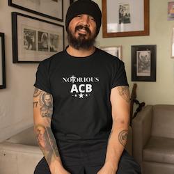Notorious ACB T-Shirt Herr