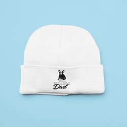 French Bulldog Dad Beanie One Size