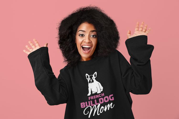 French Bulldog Mom Sweater