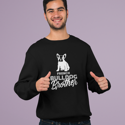 French Bulldog Brother Sweatshirt Unisex