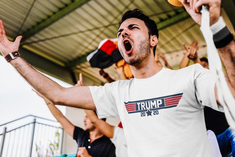 Trump Star 2020 T-Shirt Herr