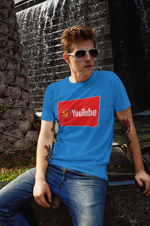 Youtube Tshirt Tshirt med tryck,Youtube Tshirt