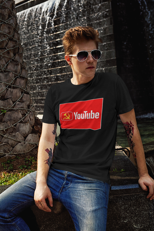 Tshirt med tryck,Youtube Tshirt