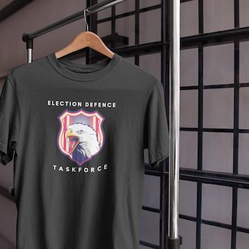 US Election Task Force  T-Shirt Herr