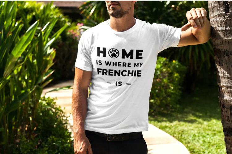 Fransk Bulldog T-Shirt- French Bulldog Tshirt