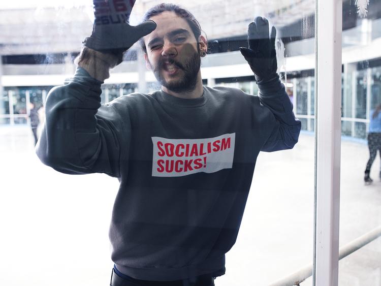 Socialism Sucks Sweatshirt