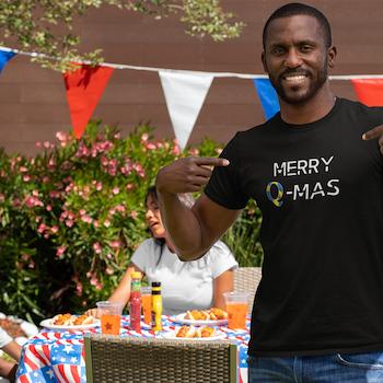 Merry Q-Mas T-Shirt Herr