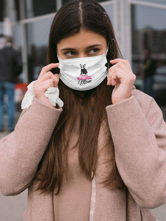 French Bulldog Mom Face Mask