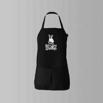 French Bulldog Brother Barn Förkläde
