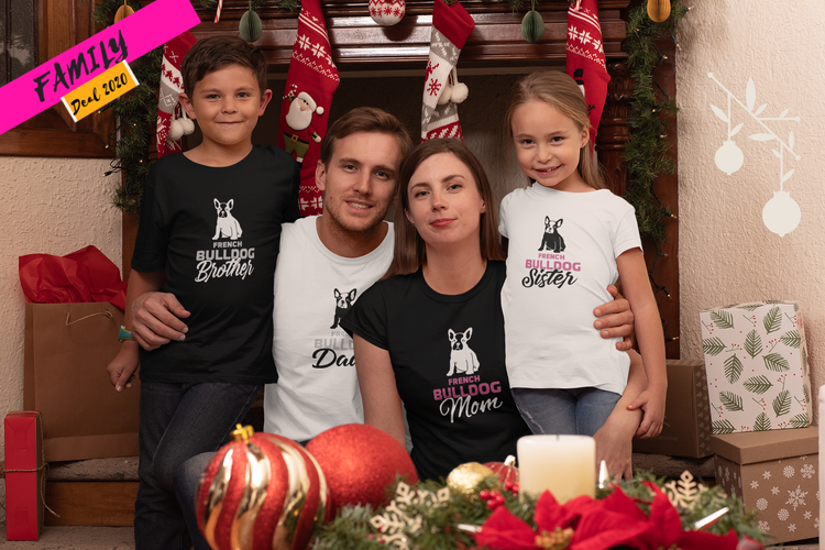 French Bulldog Family Paket