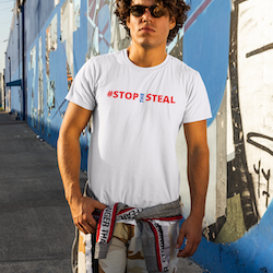 #Stop The Steal  T-Shirt Herr