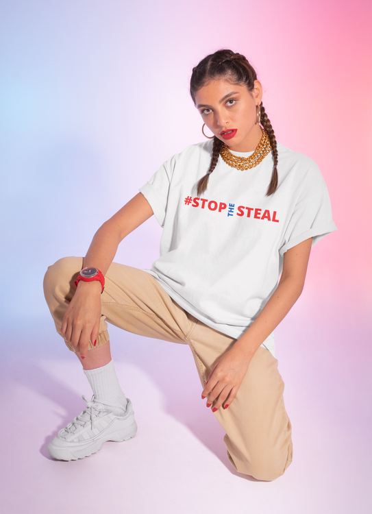 #Stop The Steal T-Shirt  Dam