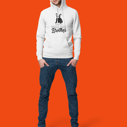 French Bulldog Brother Hoodie Herr