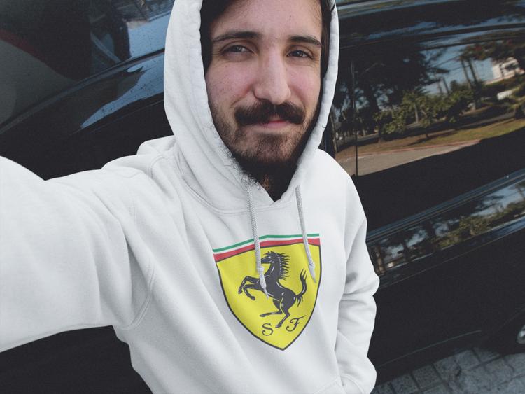 Ferrari Hoodie, Hoodie Ferari style