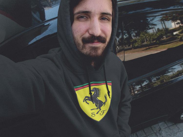 Ferrari Hoodie, Hoodie Ferrari
