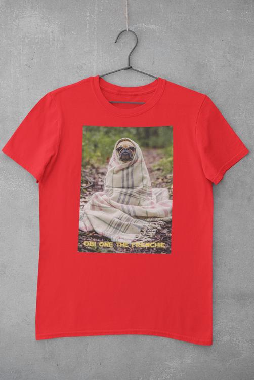 Fransk Bulldog T-Shirt, Frenchie T-Shirt Men