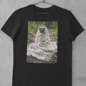 Obi One The Frenchie (notext) T-Shirt Herr