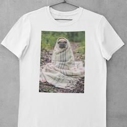 Obi One The Frenchie (notext) T-Shirt Herr