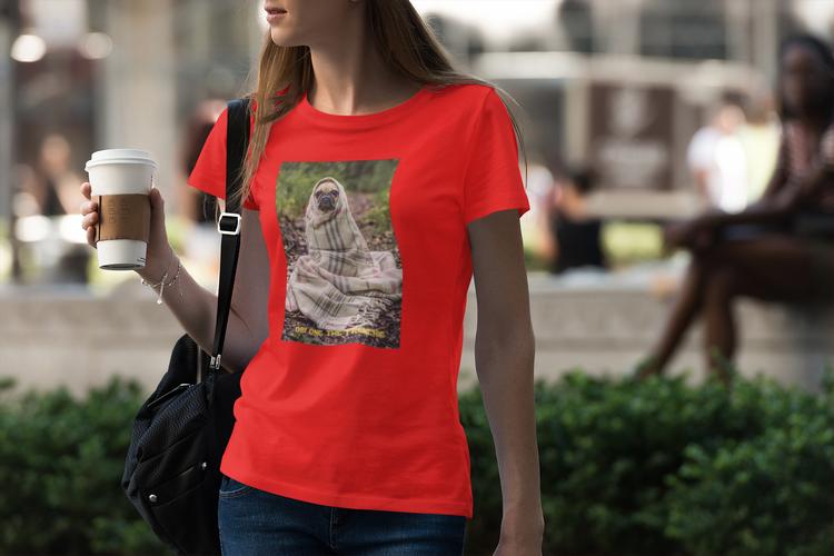 Fransk Bulldog Tshirt-French Bulldog Tshirt Women