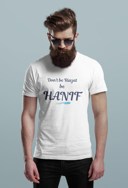 Hanif Bali Tshirt Herr-Vit, Tshirt Hanif Bali