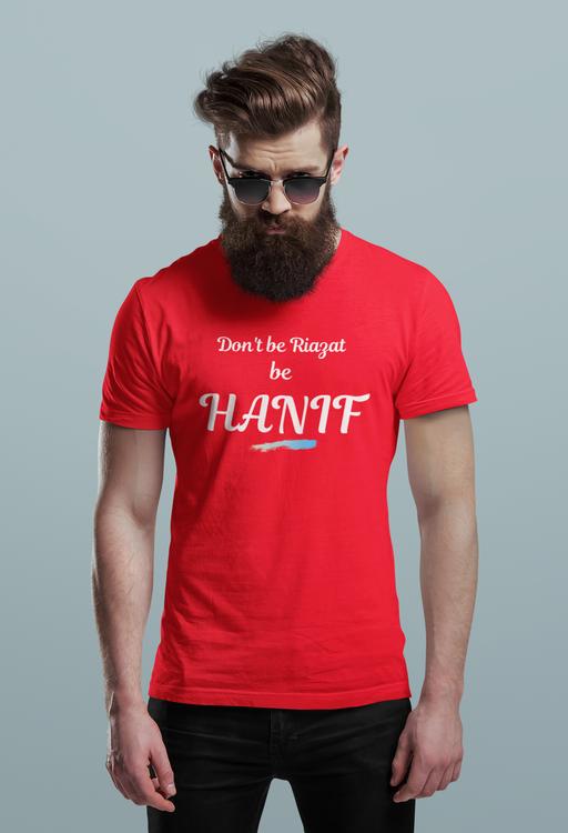 Hanif Bali Tshirt Herr-Röd, Tshirt Hanif Bali