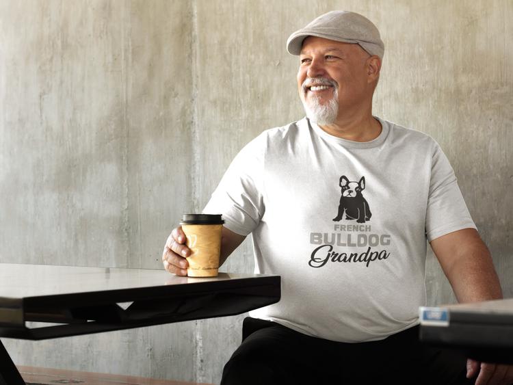 Fransk Bulldog Tshirt-French Bulldog Tshirt