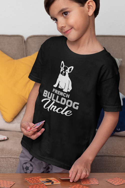 Fransk Bulldog Tshirt , French Bulldog Tshirt  Barn/Kid