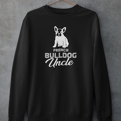 French Bulldog Uncle Sweatshirt Unisex