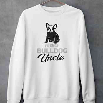 French Bulldog Uncle Sweatshirt Unisex