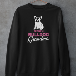 French Bulldog Grandma Sweatshirt Unisex