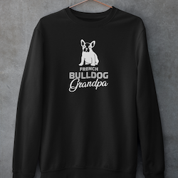 French Bulldog Grandpa Sweatshirt Unisex