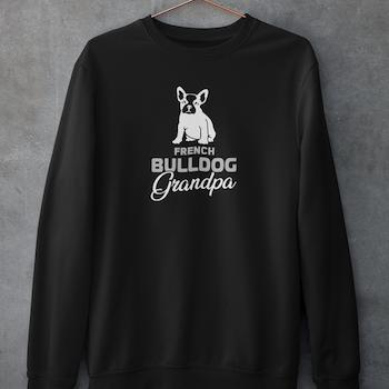 French Bulldog Grandpa Sweatshirt Unisex
