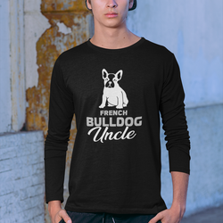 French Bulldog Uncle Long Sleeve T-Shirt Herr