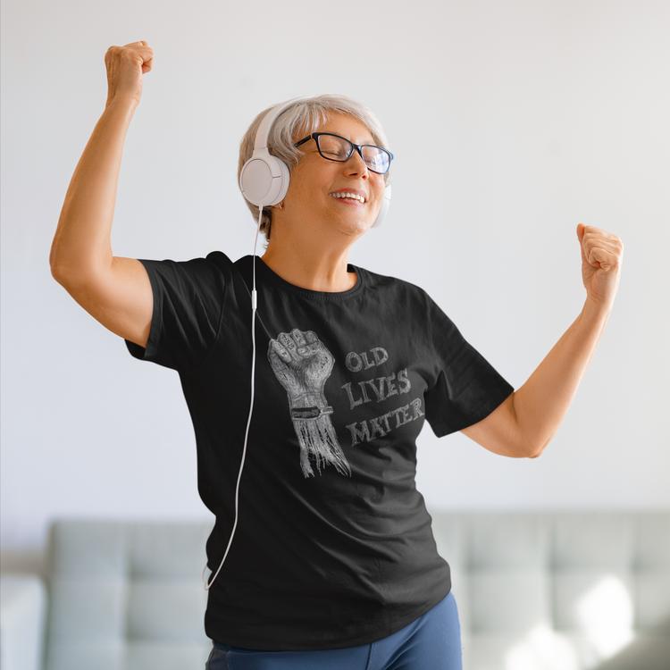 Old Lives Matter, Covid19 T-shirt Women