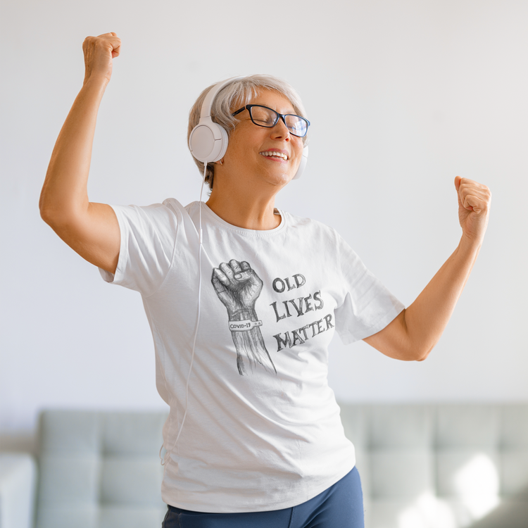 Old Lives Matter, Covid19 Tshirt Women