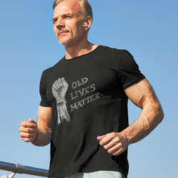 Old Lives Matter.Covid19 T-Shirt Herr