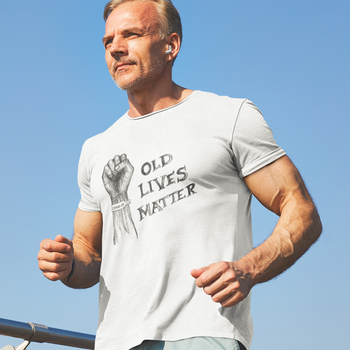 Old Lives Matter.Covid19 T-Shirt Herr