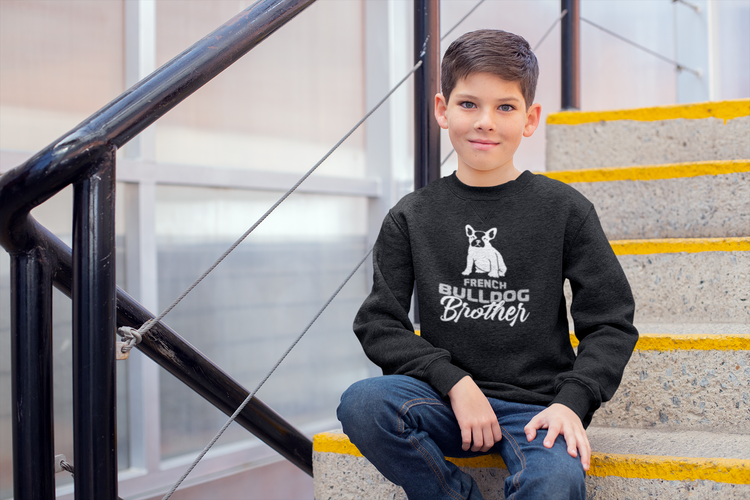 Fransk Bulldog Sweatshirt, French Bulldog sweatshirt, Fransk Bulldog Sweater Kids