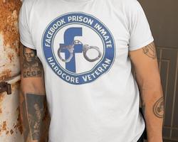 FB Prison Hardcore Veteran  T-Shirt Herr