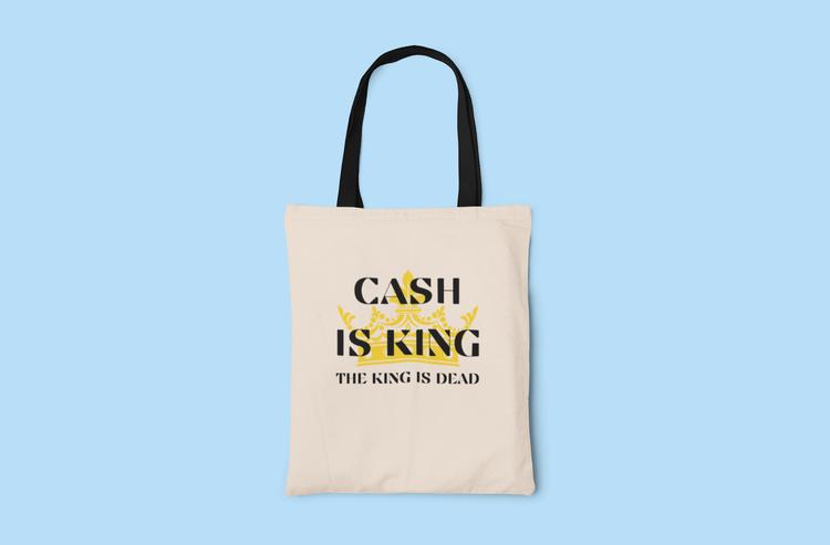 Cash Is King-The King Is Dead Tygkasse