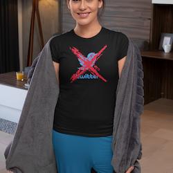 Twitter X T-Shirt  Dam