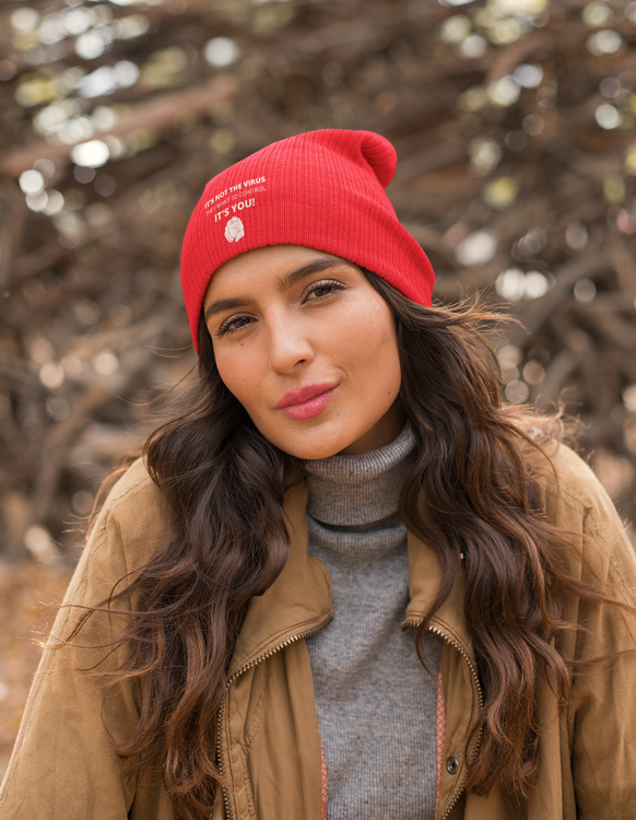 It's not the virus they want to control. It's you! Beanie One Size