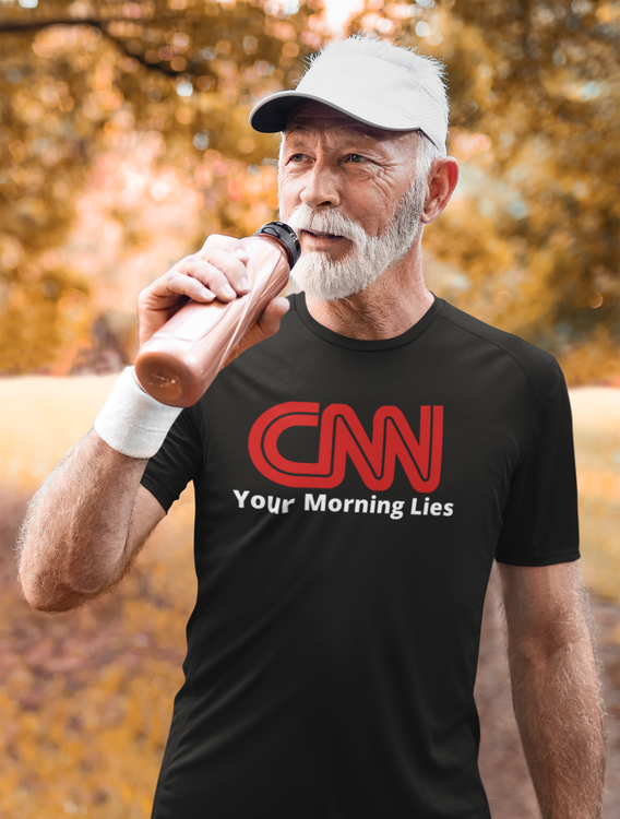CNN Your morning lies. Herr T-Shirt. CNN News