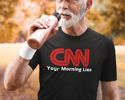 CNN T-Shirt Herr