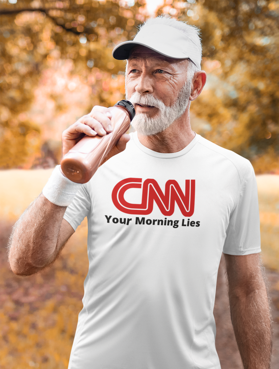 T-Shirt Herr. CNN Your morning lies. Herr T-Shirt. CNN News