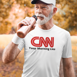 CNN T-Shirt Herr
