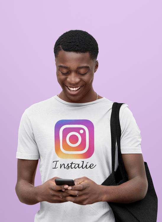 Herr T-Shirt Instagram. Instalie. A paradox