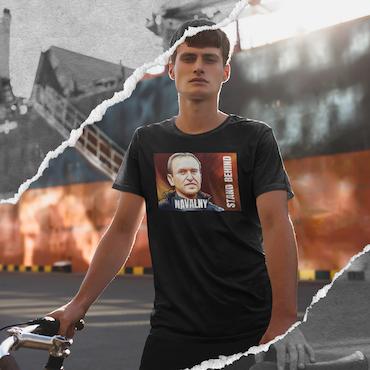 Behind Navelny T-Shirt Herr